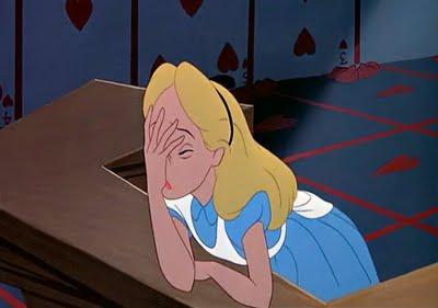 Alice Facepalm