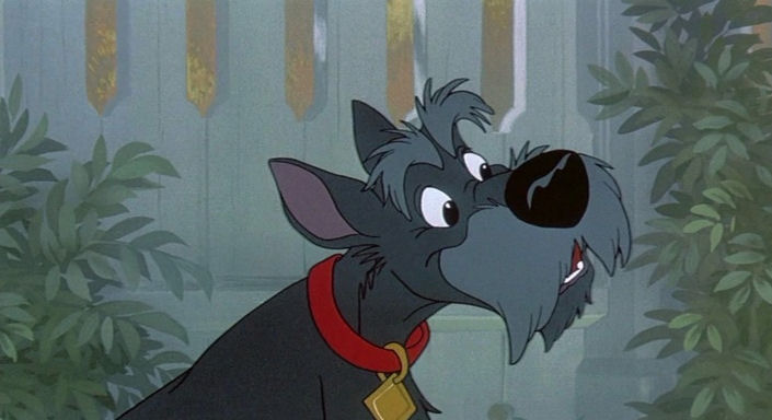 Black Dog In Lady And The Tramp