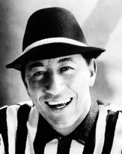Louis Prima, seen here being white.