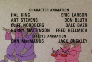 THOR PUT...I mean DON BLUTH?!