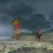 """Ha! With Rabbit and Tigger gone, soon the tontine shall be mine!""""Um, don't you mean ""ours"" Pooh?""""...Of course. Ours."""