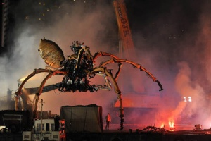 "Your answer of ""Giant Robot Spider"" is as awesome as it is wrong."