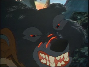 His scars are glowing! HE'S GOT FUCKING LAVA BLOOD! I LOVE THIS BEAR!