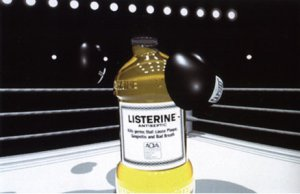Talk about humble beginnings. This Listerine ad only won five Oscars.