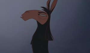 """Sceptical Kuzco"" needs to be a meme. Make it happen, people."