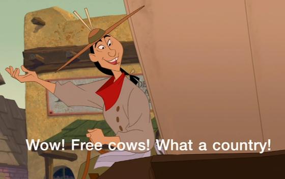 Free Cows