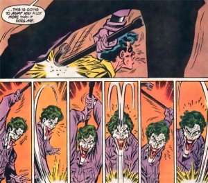 """Oh how awful…what's with the Joker's chin?""-Every DC fan ever."