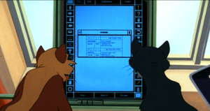 """What if your owner finds this file?"" ""He wont. Ive saved it to the desktop as ALL PUSSY, hell never look there."""