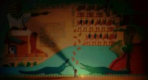 This huge mural