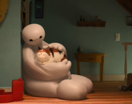 The Adventures of Hairy Baby and Baymax. Six seasons and a movie, please.