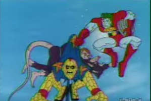 """Protect the enviroment of Ill fucking kill you! CAPTAIN PLANET MOTHERFUCKERS!"""