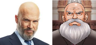 He also bears an uncanny resemblance to the Judge from the Ace Attorney series.