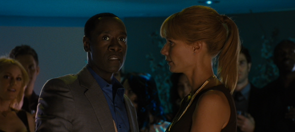 """Yes. Fight him imposter. He shall kill you. Then I shall be the true Rhodey!"" ""You say something?"" ""Nothing. Friend."""