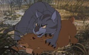 Ugh. Felidae flashbacks.