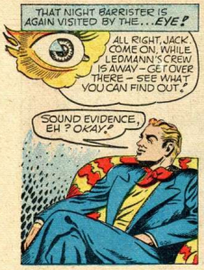 In the forties we had a superhero who was a giant flying eyeball. How's that for diversity?