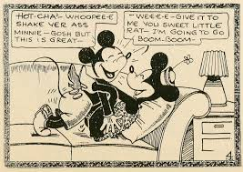 Trust me, just be glad it's Minnie and not Pluto.