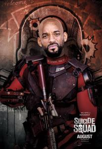 Will Smith as Deadshot Crime : Can't Act Punishment : I have to watch him