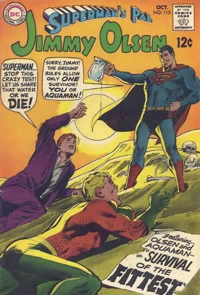 Eh, BULLSHIT. Fifties Superman was a goddamn maniac.