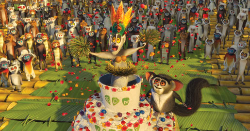 Meanwhile, at DreamWorks: DANCE PARTY!