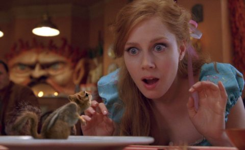 """............. Seen here as a Squirrel in """"Enchanted"""""""
