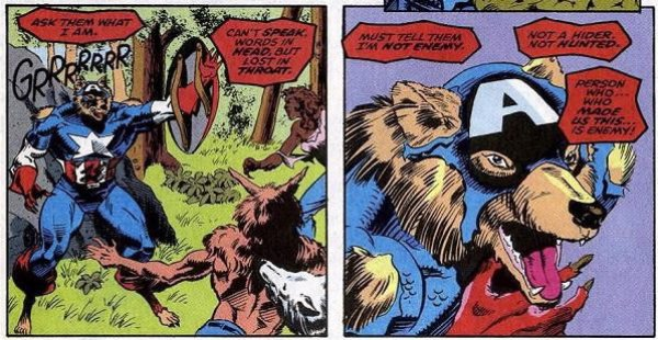 What I'm trying to say is; WHERE THE FUCK IS MY WEREWOLF CAPTAIN AMERICA MOVIE, MARVEL?