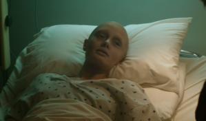 """Aw shit, no, she's bald and bathed in an angelic glow. She's a goner. Her last name might as well be """"Beeeeeeeeeeeeeeeeeeeep."""""""