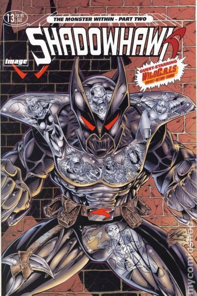 We needed gritty, realistic heroes. Like Shadowhawk. He had AIDS.